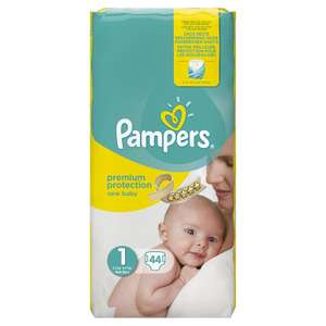 Lot de 2 packs de couches tailles 1 Pampers New Baby