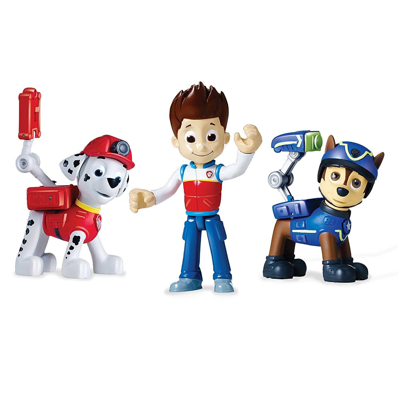 Kit 3 figurines Pat Patrouille