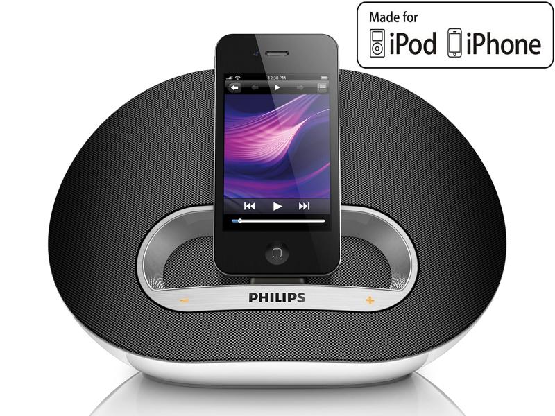 Station d'accueil iPod/ iPhone Philips DS3100 10W RMS - Livraison gratuite en point relais