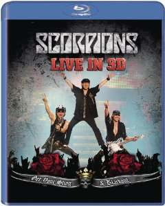 Blu-Ray 3D Scorpions Get Your Sting And Blackout Live 2011