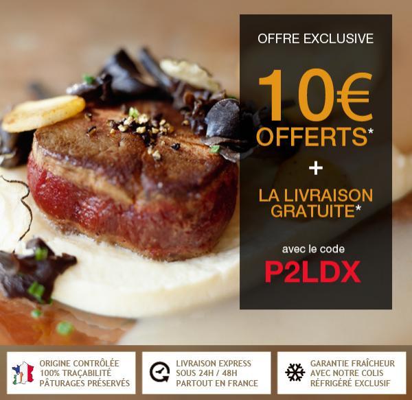 [Nouveaux clients] 10€ de réduction dès 60€ d'achat + livraison gratuite