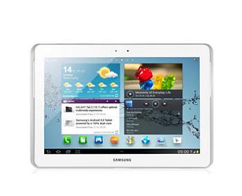 Samsung Galaxy Tab 2 - 16 Go 10.1 Blanche ou Noire + Carte SD 16 Go (Avec ODR 30€)