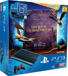 PS3 12 Go + Book of Spells + Wonderbook + Pack découverte PS Move
