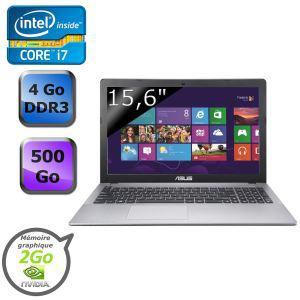 "PC Portable Asus 15,6"" A550CC-XX557H - Intel Core i7-3537U - GeForce GT720M 2Go dédiés"