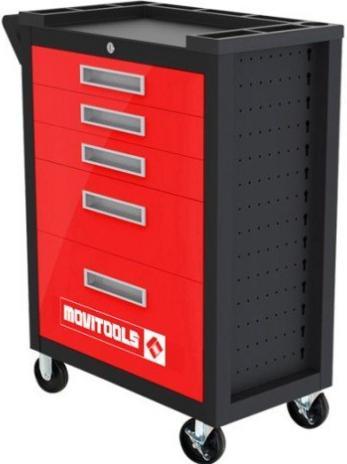 Servante d'atelier Mobitools Compact - 5 tiroirs