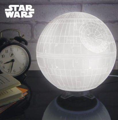 Sélection de produits Star Wars en promotion - Ex: Lampe d'ambiance Star Wars Etoile de la Mort