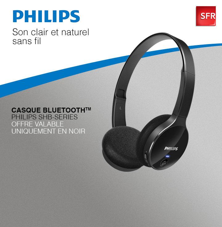 Casque Bluetooth Philips SHB 4000