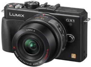 Appareil photo hybride Panasonic GX-1 + 14-42mm f3.5-5.6 PZ powerzoom