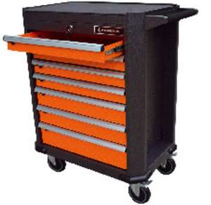 servante d 39 atelier magnusson 7 tiroirs garantie vie. Black Bedroom Furniture Sets. Home Design Ideas