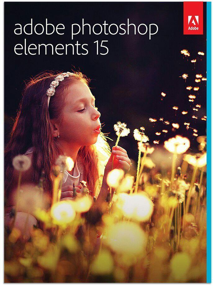 Logiciel Photoshop Elements 15 sur PC (dématerialisé)