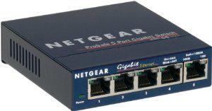 Netgear ProSafe GS105 Mini Switch Gigabit 5 ports 10/100/1000