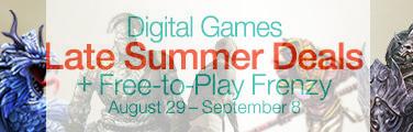 Promotion d'été jeux PC dématérialisés,