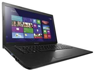 "Ordinateur portable 17.3"" Lenovo Ideapad G700 (Core i5-3230, 4 Go RAM, 1 To HDD, GeForce GT 720M 1 Go)"