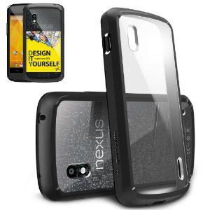 Coque de protection Ringke Fusion pour Nexus 4 / livraison gratuite