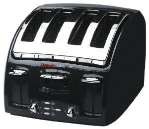 Grille-pain 532718 Avanti Tefal 4 Tranche pain Noir Classique