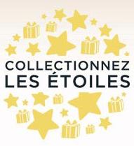 """2 étoiles offertes (Programme """"Collectionnez les étoiles"""")"""