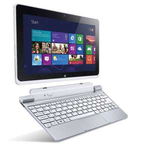 "Tablette Acer Iconia Tab W510 10.1"" 64Go + Dock Clavier ( Atom Z2760 1,5 GHz, Windows 8)"