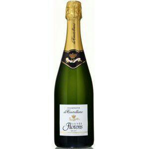 Lot de 2 bouteilles de champagne De CastellaneCuvée Florens - brut ou brut rosé, 75 cl