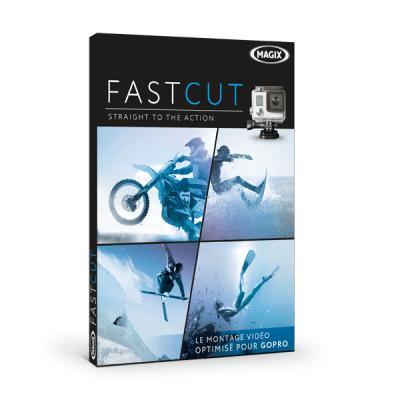 Logiciel Magix fastcut sur PC