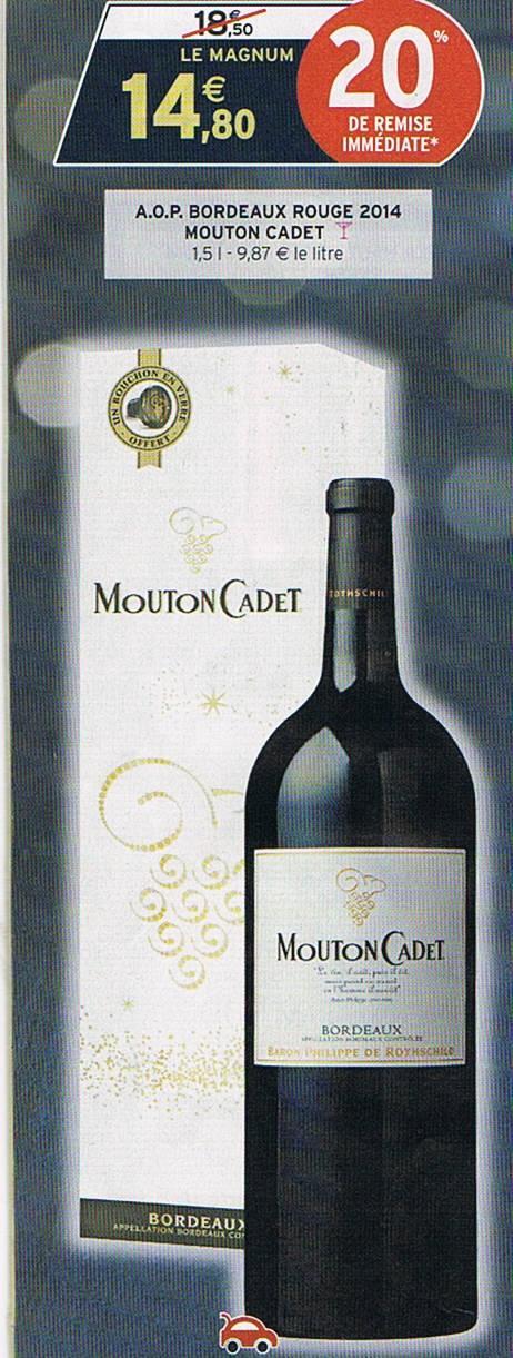 Magnum (1,5l) Mouton Cadet (Baron Philippe de Rothschild)