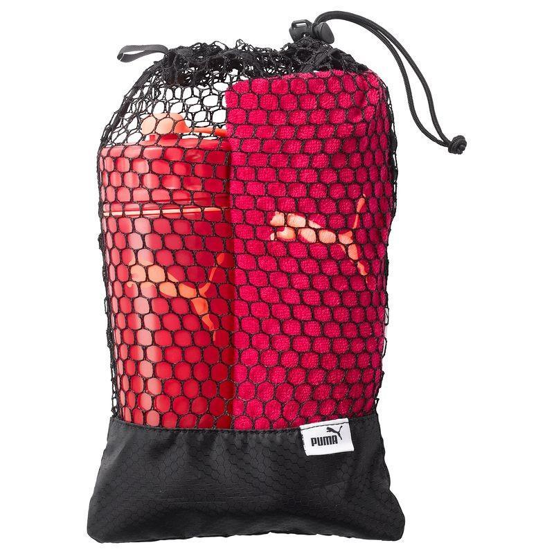 Pack de Fitness Puma Rose - Sac + Bidon + Serviette