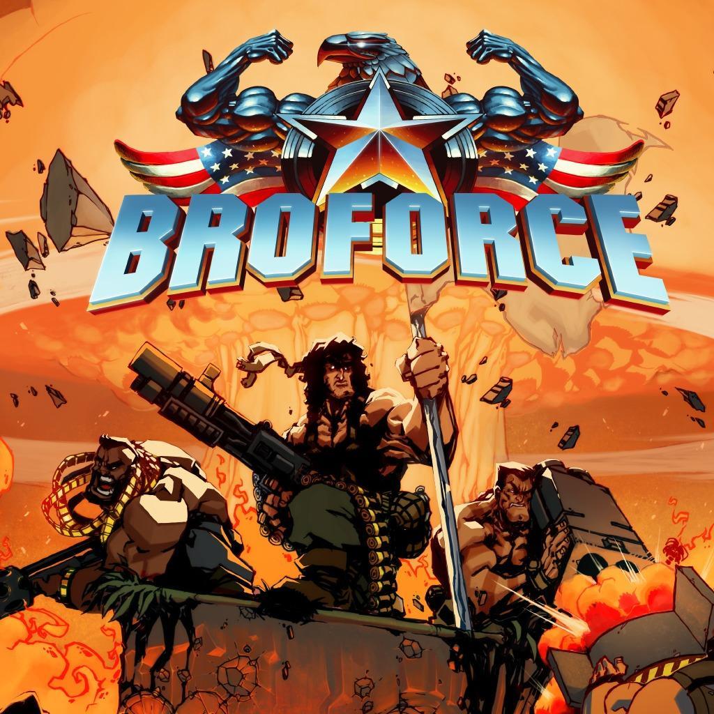 Sélection de jeux en promotion - Ex: Broforce sur PC (Dématérialisé - Steam)