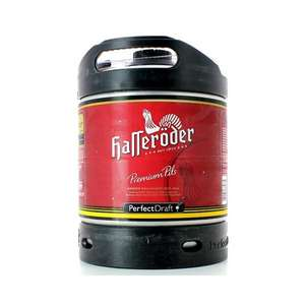 Fût de bière Hasseröder Perfectdraft - 6L