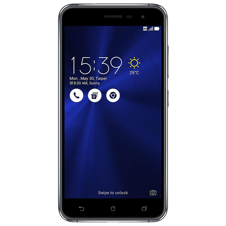 "Smartphone 5.2"" Asus Zenfone 3 Dual SIM Noir - 32 Go, Android 6.0 (Via ODR 30€)"