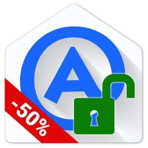 Application Aqua Mail Pro Key sur Android