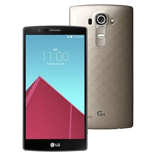 "Smartphone 5.5"" LG G4 H815 - ROM 32 Go, RAM 3 Go, 16MP, 4G LTE"