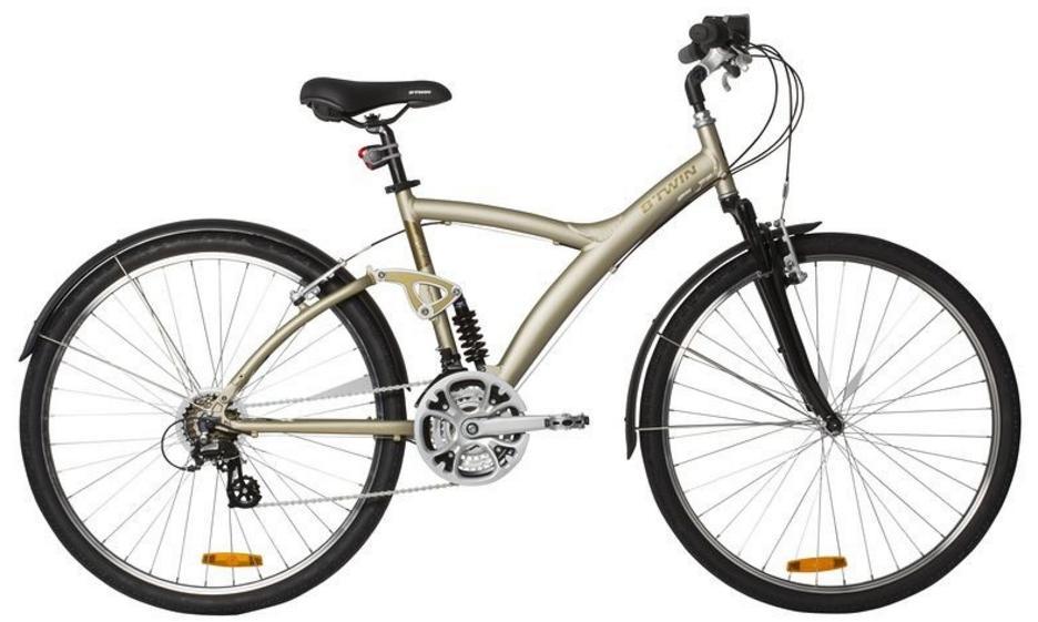 Vélo VTC Btwin Original 700
