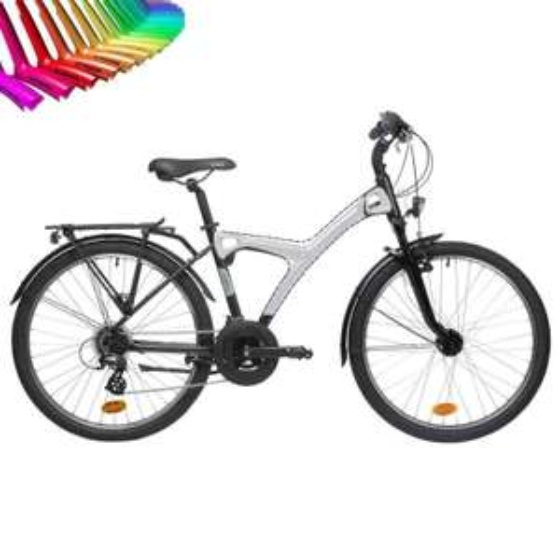 Vélo VTC B'original 520 B'Twin (Couleur personnalisable)