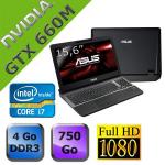"""PC Portable 15.6"""" Asus ROG G55VW (i7-3630QM, 4 Go, GeForce GTX 660M) + 200€ en plusieurs bons d'achat"""