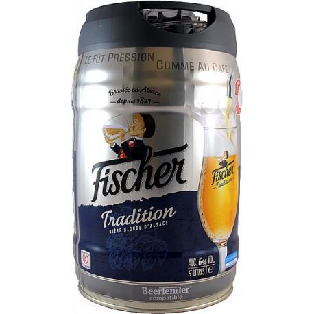 Fût Beertender Fischer Tradition - 5L