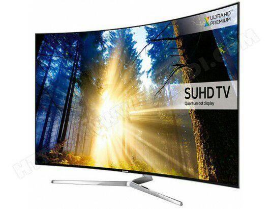 tv 55 samsung ue55ks9000 suhd 4k incurv e garantie. Black Bedroom Furniture Sets. Home Design Ideas