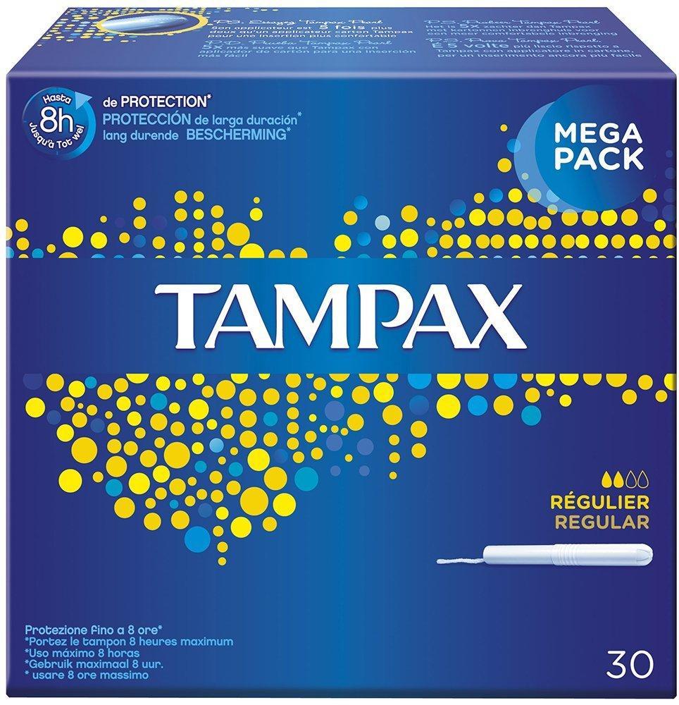 [Panier Plus] Boite de 30 tampons Tampax avec applicateur