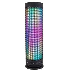 Enceinte bluetooth Milool - Cylindrique, LED, 2 x 5W