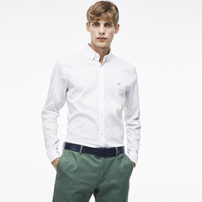Sélection d'articles en promotion - Ex : chemise Slim Fit (en popeline de coton, taille 41)
