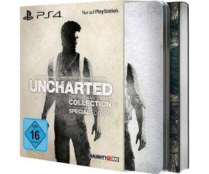 Uncharted The Nathan Drake Collection Special Edition sur PS4