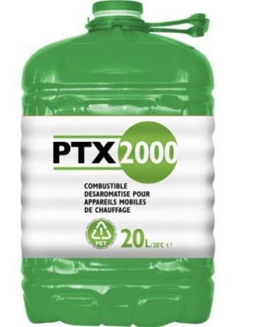 Bidon de pétrole liquide PTX 2000 - 20L