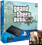 PlayStation 3 Slim 500 Go + The Last of Us & GTA V