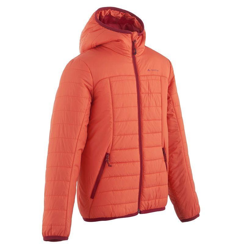 Doudoune Quechua X-Light - orange (12 ans)