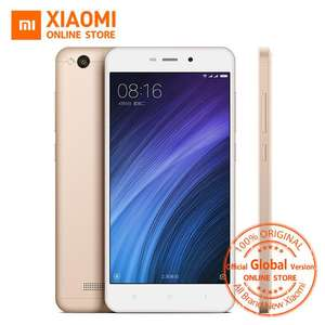 "Smartphone 5"" Xiaomi Redmi 4A Version Internationale (B1/3/4/5/7/20) Or Rose - Snapdragon 425, ROM 16 Go, RAM 2 Go"