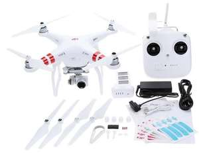 DJI Phantom 3 Standard Drone Version FPV RC Quadcopter avec 2.7K Caméra HD Auto-Hover GPS