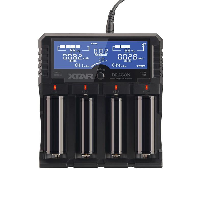 Chargeur de batteries NiMH/LiIon Xtar VP4 Plus Dragon
