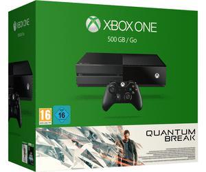 Sélection de packs console Microsoft Xbox One en promotion - Ex : console Xbox One (500 Go) + Quantum Break (dématérialisé)