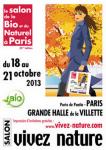 Invitation gratuite pour le 39eme salon de l'agriculture bio Paris