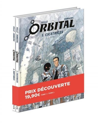 Packs découvertes BD série Orbital tomes 1 à 2