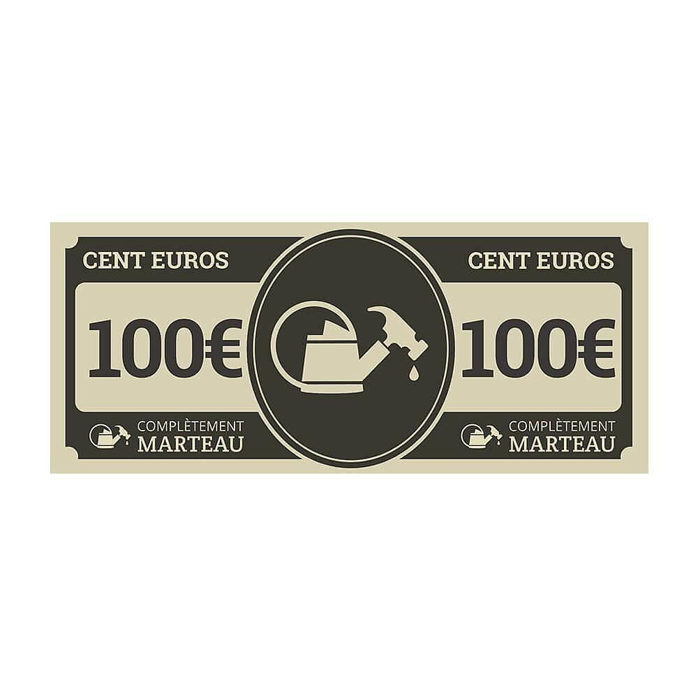 100€ à dépenser chez Completement-marteau