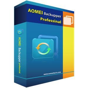 Logiciel AOMEI Backupper Professional gratuit (Dématérialisé)